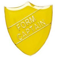 ShieldBadge Form Captain Yellow</br>SB016Y